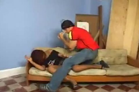 dark ladyboy In Heels pounded Hard